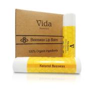 LIP BALM 100% Natural Beeswax Lip Balm,Coconut Oil,Vitamin E To Repair Dry, Cracked and Chapped Lips Organic LIP BALM