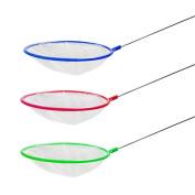 Zeroyoyo Aquarium Circle Fish Tank Net Catching Quality Fine Reef Shrimp Catch Tools Cleaning Grass Plant Long Handle