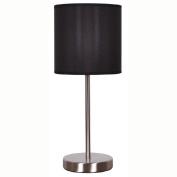 Living & Co Mila Metal Lamp Black