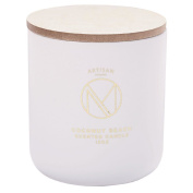 Artisan Homme Masculine Large Jar Candle with Lid Scent Coconut Beach 7.
