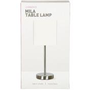 Living & Co Mila Metal Lamp White