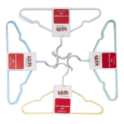Coat Hangers Kids' Wire 6 Pack Assorted Colours