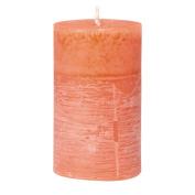 Aura Pillar Candle Coral Wilderness 6cm x 10cm