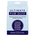 Pub Trivia Quiz Card