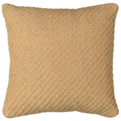 Maison d'Or Limited Edition Cushion Florida Coral/Natural 43cm x 43cm