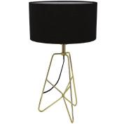 Design House Evie Table Lamp Black