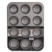Harrison & Lane Embossed Muffin 12 Cup