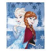 Frozen Throw Polar Fleece Shine 130cm x 160cm