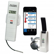 La Crosse Alerts 926-25102-PET Aquarium Monitoring System with Wet Probe for Early Warning Alerts & Wireless mobility