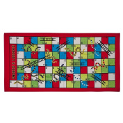 Living & Co Beach Towel Game Snakes and Ladders Multi-colour 75 x 150cm