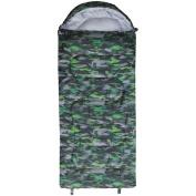Navigator South Sleeping Bag All Season Camo Green