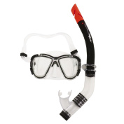 Aqua Splash Junior Mask & Snorkel Set Tempered Glass