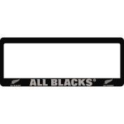 All Blacks Number Plate Frame Pair