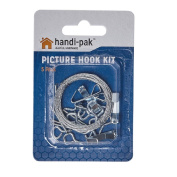 Handipak Picture Hanging Kit with Hooks and Wire