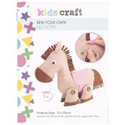 Kids' Art & Craft KC Felt Sewing Horse