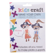Kids' Art & Craft Make Your Own Pirate Puppets