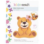 Kids' Art & Craft Sew Your Own Felt Bear
