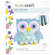 Kids' Art & Craft Felt Owl Backpack