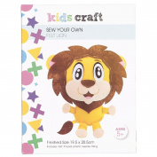 Kids' Art & Craft Felt Sewing Lion