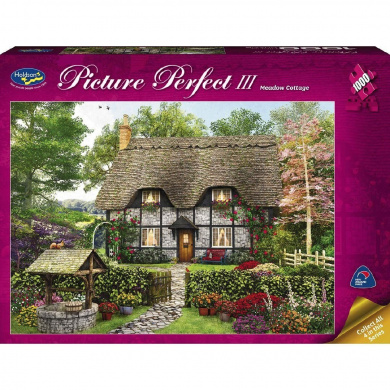 Puzzle Picture Perfect 3 1000 Piece Assorted