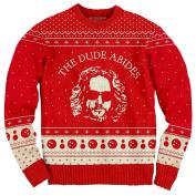 The Big Bang Theory Bazinga! Red Adult Knit Sweater