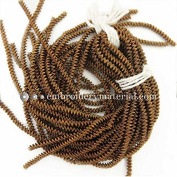 4mm French Metallic wire in Antique Gold Colour