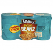 Wattie's Baked Beans Handypack 3 x 420gram