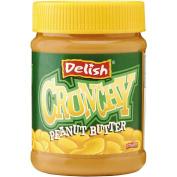 Delish Delish Peanut Butter Crunchy 375g