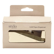 Stylo Cellotape Gold Dispenser with Tape