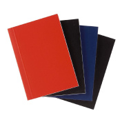 Deskwise Hardcover Notebook Assorted A7 4 Pack