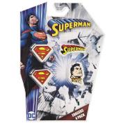 Superman DC Comics Erasers Set 4 Pack