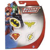 Justice League DC Comics Erasers Set 4 Pack
