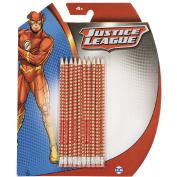 The Flash DC Comics HB Pencil with Eraser Set 10 Pack