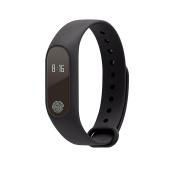 MyePads M2 Smart Fitness Tracker Wristband - Black