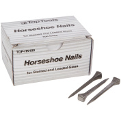 Top Tools Steel 5.1cm Horseshoe Nails Box of 100
