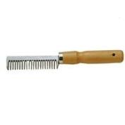 Partrade Comb Alum Mane 20 Teeth W/Wood