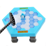 Child Education Toy, Toamen Child Kid Save Penguin Game Break Ice Block Hammer Trap Education Toy Puzzle Toy Gift