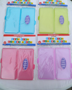 2 Baby Wipes Travel Baby Wipe Case Carry Along Box Changing Dispenser Home Holiday Use Wet Wipe Case Choice of Colours