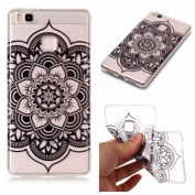 Huawei P9 lite Case, Crystal Clear Case for Huawei P9 lite, Silicone Case for Huawei P9 lite, BONROY® Soft TPU Cover Slim Fit Ultra Thin Anti-Scratch Shock Absorption Protective Back Case Cover Shell for Huawei P9 lite, Flexible TPU Silicone Rubber Bum ..