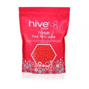 HIVE OF BEAUTY Rose Hot Film Wax Pellets Hair Removal Waxing All Skin Types