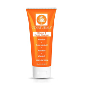 OZNaturals Vitamin C Facial Cleanser – This Natural Face Wash Is The Most Effective Anti Ageing Cleanser Available - Deep Cleans Your Pores Naturally For A Healthy, Radiant Glow.