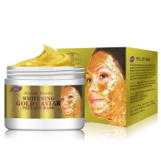 Peel Off Facial Mask,24K Gold Collagen Peel Off Facial Mask Face Skin Moisturising Firming Anti Ageing Beauty Top