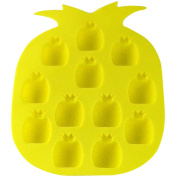 Southern Homewares Pineapple Ice Cube Tray, Yellow