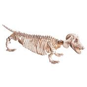 Dachshund Skeleton Halloween Decoration