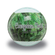 Evergreen Twist Christmas Bubbling Bath Bomb