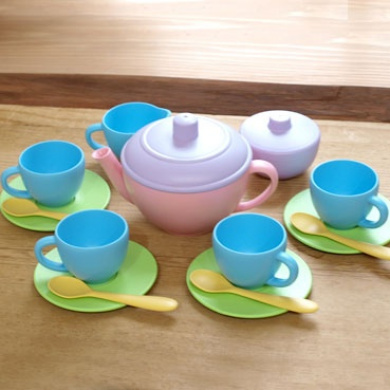 American Green toys (green toys) tea sets