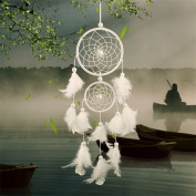 BDECOLL DREAMCATCHER Wind Chimes & Hanging Decorations/Indian Style Feather Pendant Dream Catcher Regalo