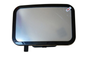 Atefacr®Baby Car Mirror Shatterproof Clear Safe Simple Secure Instal Back Seat Rear Fixing Straps View mirror