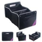 NWYJR Car Organiser Nylon Shopping Tidy Heavy Duty Collapsible Foldable Storage Car, SUV, Minivan, Truck Indoor and etc
