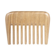 Anself Pocket Wood Comb Hair Anti-static Comb Hairdressing Wood Comb Salon Wooden Comb Sandalwood Wide Teeth Massage